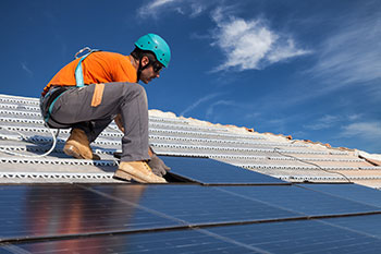 Swezey makes solar panel installations easy