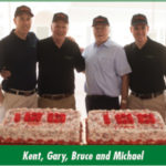 Kent, Gary, Bruce and Michael
