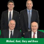 Michael, Kent, Gary and Bruce