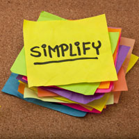 Ways to simplify your life in 2020/21